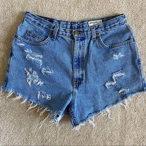 Vintage Eddie Bauer Jean Shorts